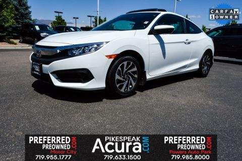 Pre-Owned 2017 Honda Civic LX-P