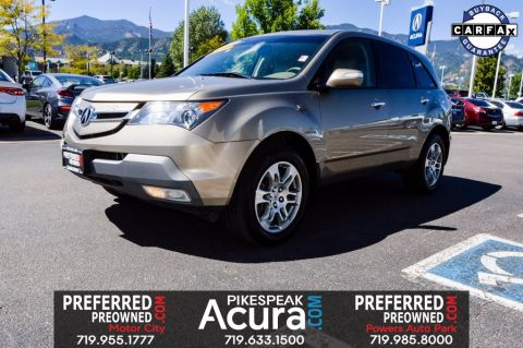 Pre-Owned 2007 Acura MDX 3.7L AWD