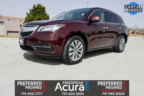 Pre-Owned 2016 Acura MDX 3.5L w/Technology & Entertainment Pkgs