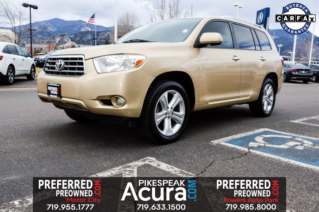 Pre-Owned 2009 Toyota Highlander Limited 3RD ROW